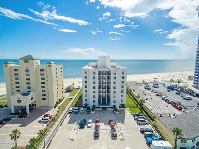 Daytona Beach Shores Condo/Townhouse For Sale: 2615 S Atlantic Avenue #4D