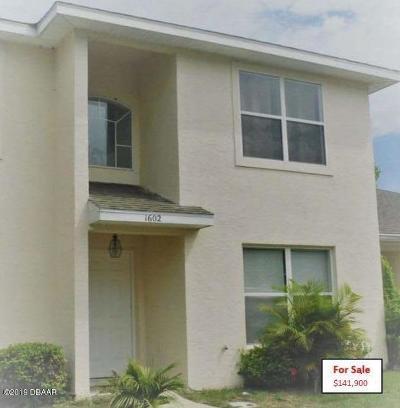 Port Orange Attached For Sale: 1602 Deer Springs Road