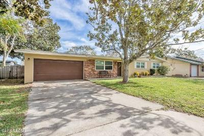 Daytona Beach FL Single Family Home For Sale: $189,000