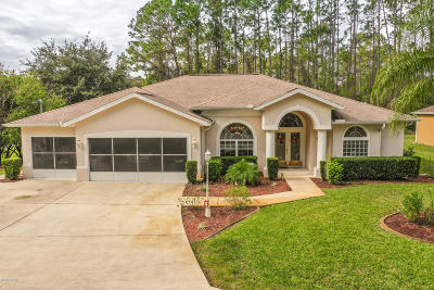 Palm Coast Single Family Home For Sale: 1 Lake Charles Place