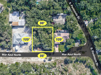Ponce Inlet Residential Lots & Land For Sale: 29 N Mar Azul
