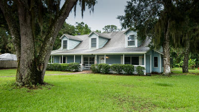 New Smyrna Beach Single Family Home For Sale: 2570 Turnbull Bay Road
