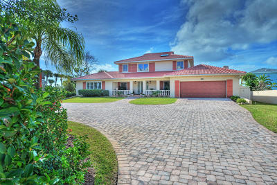 Volusia County Single Family Home For Sale: 3318 S Peninsula Drive