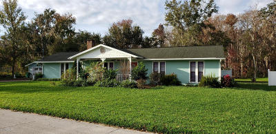 New Smyrna Beach Single Family Home For Sale: 1236 Bolton Road