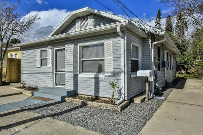 Daytona Beach Multi Family Home For Sale: 407 Ora Street