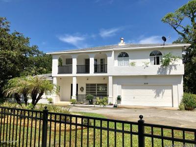 New Smyrna Beach Single Family Home For Sale: 203 Canova Drive