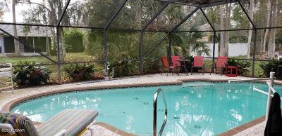 Palm Coast FL Single Family Home For Sale: $190,000