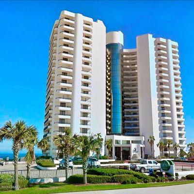 Daytona Beach Condo/Townhouse For Sale: 3757 S Atlantic Avenue #801