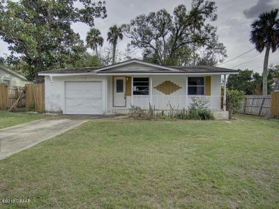 Holly Hill FL Single Family Home For Sale: $74,900