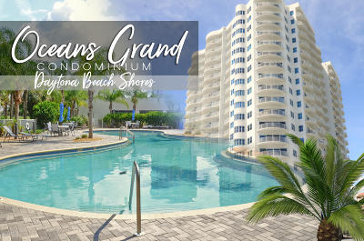 Daytona Beach Shores Condo/Townhouse For Sale: 2 Oceans West Boulevard #103