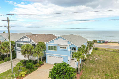 Flagler Beach Single Family Home For Sale: 2820 S Ocean Shore Boulevard