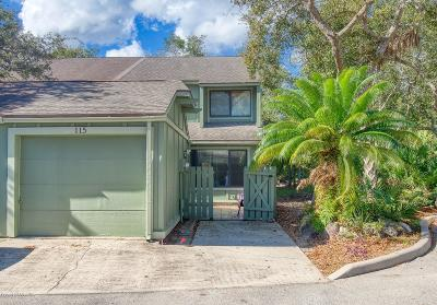 Ormond Beach Attached For Sale: 115 Timberline Trail
