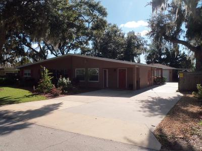 Port Orange Single Family Home For Sale: 5492 W Bayshore Drive