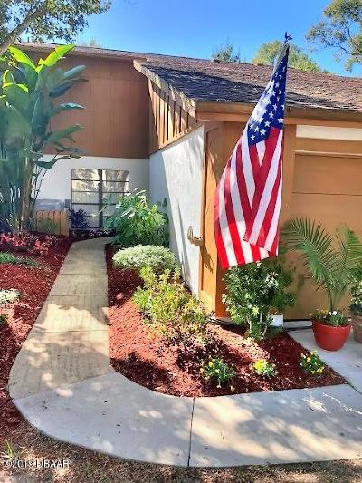 Ormond Beach Attached For Sale: 60 Cherokee Trail