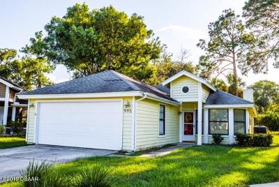 Port Orange Single Family Home For Sale: 995 Heatherwood Court