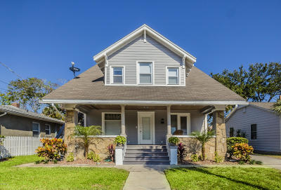 Daytona Beach Single Family Home For Sale: 319 Goodall Avenue