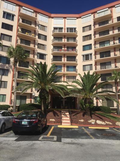Flagler Beach Condo/Townhouse For Sale: 3600 S Ocean Shore Boulevard #812