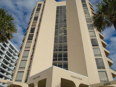 Daytona Beach Shores Condo/Townhouse For Sale: 3023 S Atlantic Avenue #7050
