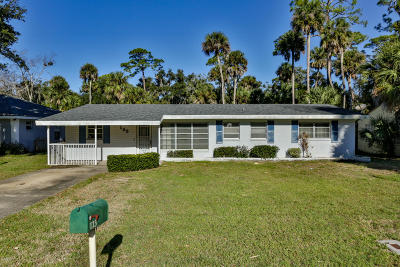 New Smyrna Beach Single Family Home For Sale: 123 Landis Street