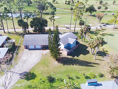 New Smyrna Beach Single Family Home For Sale: 35 Fairway Circle