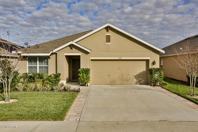 New Smyrna Beach Single Family Home For Sale: 439 Pink Coral Lane