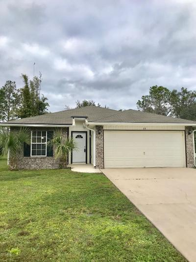 Palm Coast Single Family Home For Sale: 33 Sea Trail