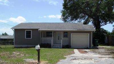 Daytona Beach Single Family Home For Sale: 249 15th Street