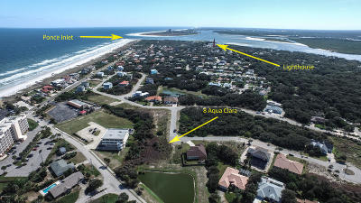 Ponce Inlet Residential Lots & Land For Sale: 8 Aqua Clara