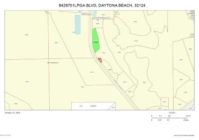 Volusia County Residential Lots & Land For Sale: Lpga Boulevard