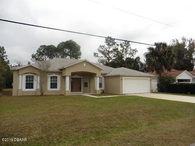 Palm Coast Single Family Home For Sale: 49 Pine Croft Lane