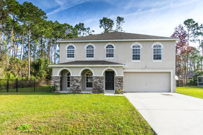 Palm Coast FL Single Family Home For Sale: $264,900