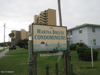 Daytona Beach Condo/Townhouse For Sale: 500 S Beach Street #F-3
