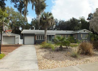New Smyrna Beach Single Family Home For Sale: 1415 Live Oak Street
