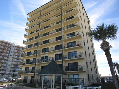 Daytona Beach Condo/Townhouse For Sale: 3647 S Atlantic Avenue #4C