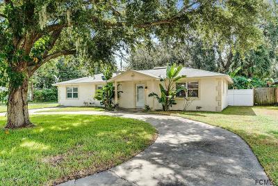 Daytona Beach Single Family Home For Sale: 625 Winston Drive