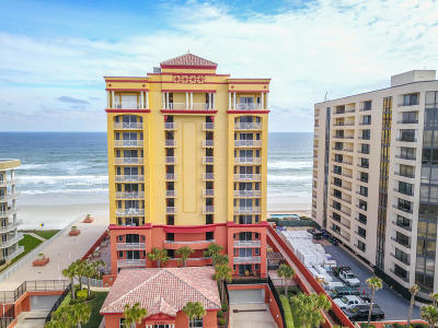 Daytona Beach Condo/Townhouse For Sale: 2901 S Atlantic Avenue #201