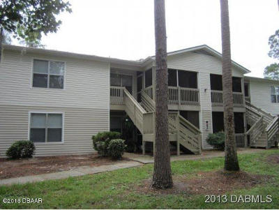 Volusia County Condo/Townhouse For Sale: 1600 Big Tree Road #I3