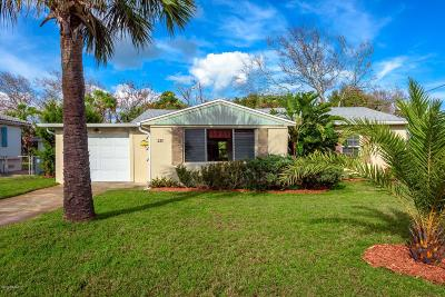 Daytona Beach Single Family Home For Sale: 281 Brookline Avenue