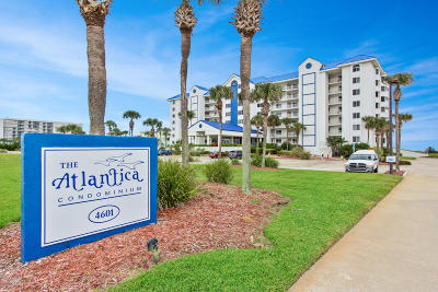 Volusia County Condo/Townhouse For Sale: 4601 S Atlantic Avenue #605