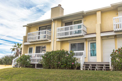Volusia County Condo/Townhouse For Sale: 4764 S Atlantic Avenue #5