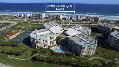 Ponce Inlet Condo/Townhouse For Sale: 4650 Links Village Drive #B402