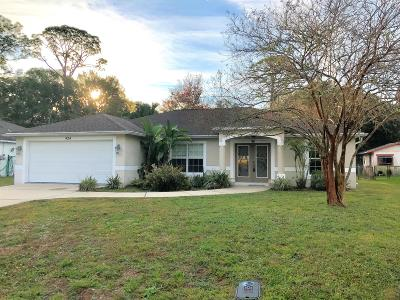 Volusia County Rental For Rent: 424 Arroyo Parkway