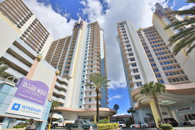 Daytona Beach Condo/Townhouse For Sale: 300 N Atlantic Avenue #410