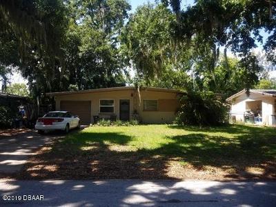 South Daytona Single Family Home For Sale: 730 Largo Way