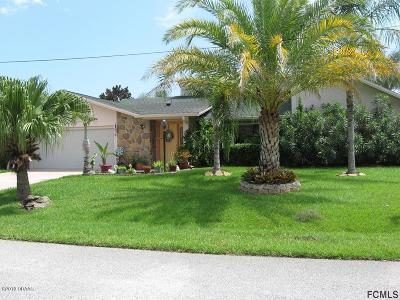 Palm Coast Single Family Home For Sale: 3 S Clearview Court