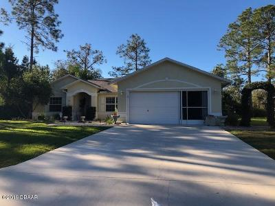 Palm Coast Single Family Home For Sale: 9 Wheatfield Drive