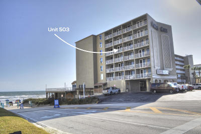 Daytona Beach Shores Condo/Townhouse For Sale: 3501 S Atlantic Avenue #503