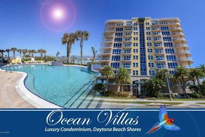 Daytona Beach Condo/Townhouse For Sale: 3703 S Atlantic Avenue #902