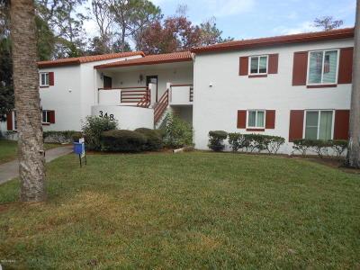 Daytona Beach Condo/Townhouse For Sale: 348 Bob White Court #119C