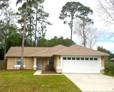 Palm Coast FL Single Family Home For Sale: $178,900